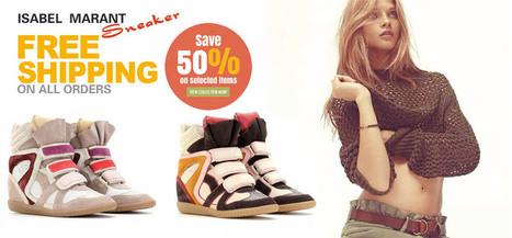 Isabelle Marant:: Sneakers Isabel Marant Pas Cher Vente. | Isabelle Marant | Scoop.it