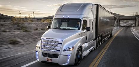 Un camion pourvu d'un pilote automatique passe les certifications pour rouler aux États-Unis | Les robots de service | Scoop.it