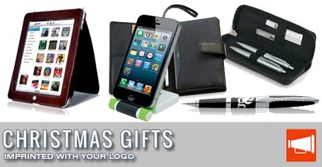 Business Tip: Give Christmas Gifts imprinted with your Logo to your clients & Staff | Technology in Business Today | Scoop.it