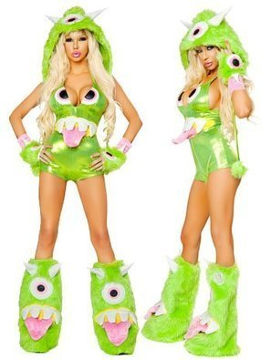 Ladies Sexy One Eyed Monster Costume | Halloween Ideas | Scoop.it