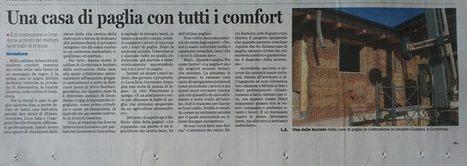 Corselva - Photos from Corselva's post | Facebook | Costruire con le balle di paglia www.caseinpaglia.it | Scoop.it