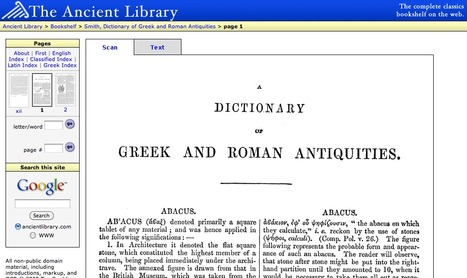 Dictionary of Greek and Roman Antiquities | Latin.resources.useful | Scoop.it