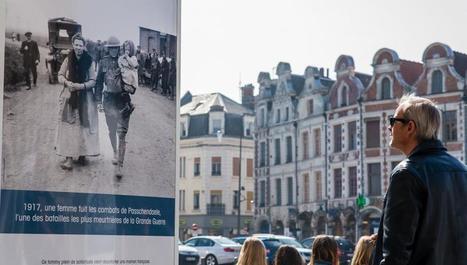 Arras: la Place des Héros n'a jamais aussi bien porté son nom | Centenaire de la Première Guerre Mondiale | Scoop.it