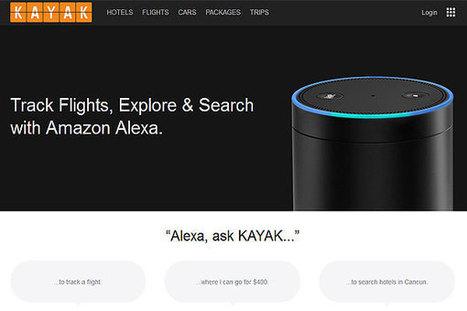 """Alexa, Ask KAYAK"": KAYAK launches voice-enabled travel search | TravelDailyNews International | Tourism marketing | Scoop.it"