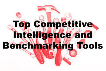 The 12 Best Competitive Intelligence and Benchmarking Tools | Strategy and Competitive Intelligence by Bonnie Hohhof | Scoop.it
