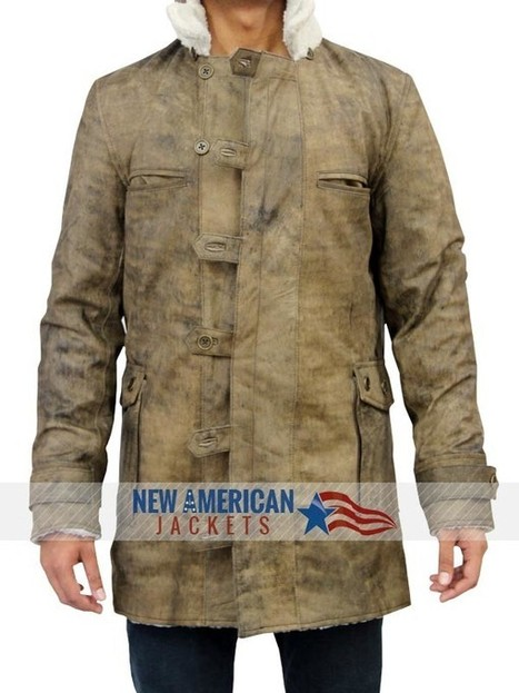 Dark Knight Rises Bane Coat | Tom Hardy Bane Leather Coat | New american jackets online Store | Scoop.it