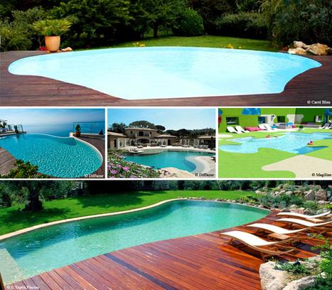 Quand la piscine épouse toutes les formes ! | Guide piscine : infos et conseils sur l'univers de la piscine | Scoop.it