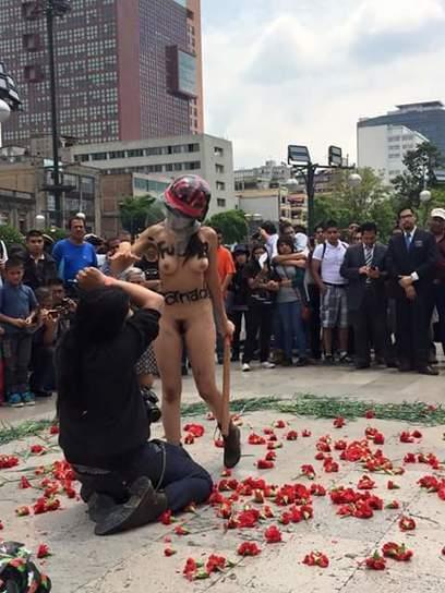 Un culo por la brutalidad policíaca | Por amor al arte | Scoop.it