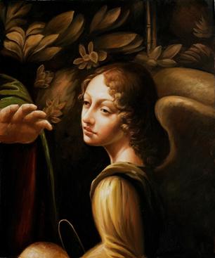 Virgin of the Rocks Oil Painting by Leonardo Da Vinci | oil painting | Scoop.it