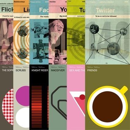 DzineGeek: Minimalist Retro Poster Design by Albert Exergian and Stéphane Massa-Bidal | Digital design - for learning & consuming | Scoop.it