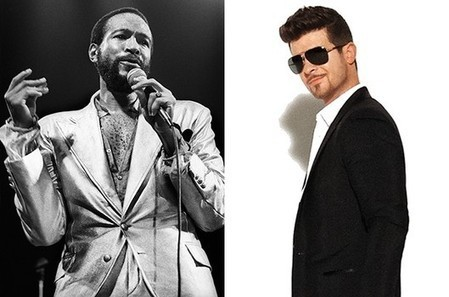Robin Thicke's huge offer to Marvin Gaye's family rejected over 'Blurred Lines' - Examiner.com | Music Business Resource | Scoop.it