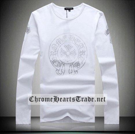 Chrome Hearts Rhinestones Horseshoe and Corsses White Long T-Shirt Cheap [CH T Shirt] - $139.00 : Chrome Hearts Trade | Buy Chrome Hearts Online Shop | Headphones Sale Online Cheap Beats By Dre | Scoop.it