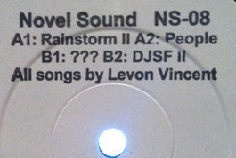 Levon Vincent releases new 12-inch on Novel Sound | DJing | Scoop.it