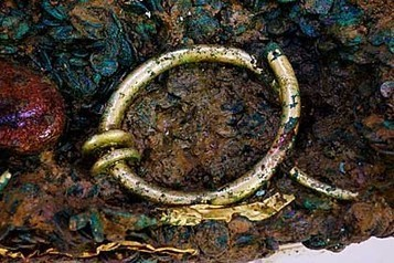 Archaeologists in Jersey find solid gold torc hidden in Celtic coin hoard | Culture24 | Celts | Scoop.it