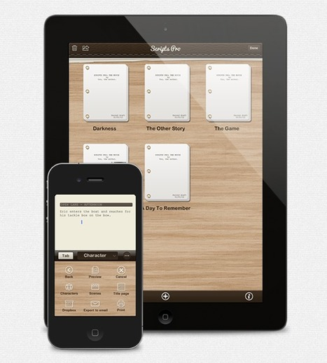 Screenwriting App Scripts Pro Goes Through Major Rewrite | iPads in Education Daily | Scoop.it