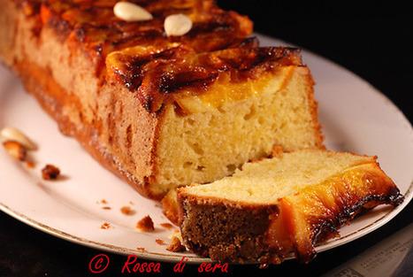 Rossa di sera: Cake alle arance caramellate e mandorle | Il mio lato più dolce | Scoop.it