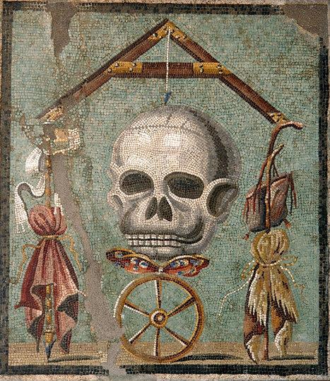 Memento mori a Pompei, cosa significa la farfalla? | LVDVS CHIRONIS 3.0 | Scoop.it