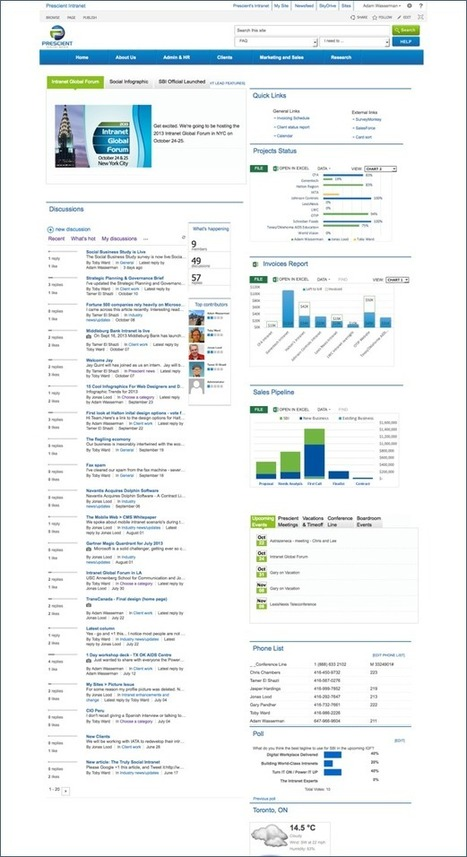 SharePoint 2013 for the Social Intranet | Intranet Blog | Kuhn, Kammann & Kuhn Sharepoint News | Scoop.it