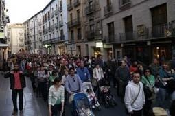 Miles de personas acuden a la histórica movilización de la tarde en Huesca | AraInfo | Achencia de Noticias d´Aragón | #Vada29M | Scoop.it