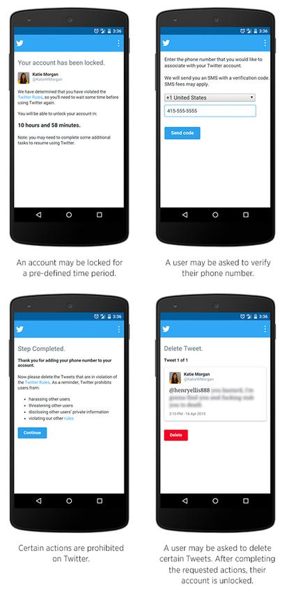 Twitter renforce sa lutte contre le harcèlement et va suspendre les comptes violents | Blog du Modérateur | CLEMI. Infodoc.Presse  : veille sur l'actualité des médias. Centre de documentation du CLEMI | Scoop.it