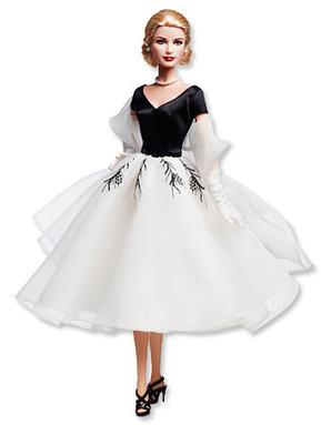 Mattel Releases A New Grace Kelly Barbie Doll! | Les choix de Charlotte, 7 ans et demi | Scoop.it