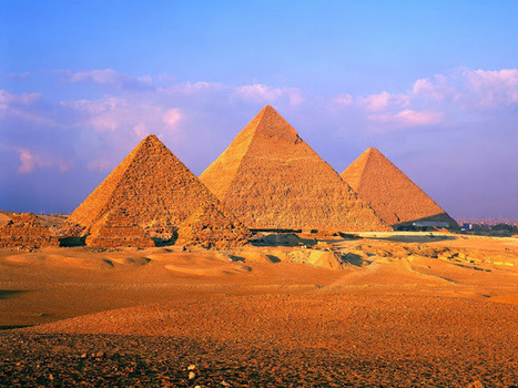 pyramids of giza egypt wallpaper - cool wallpapers cool Backgrounds | majed | Scoop.it