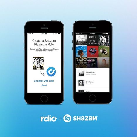 Rdio and Shazam Announce International Expansion of Music Discovery Partnership | Music business | Scoop.it