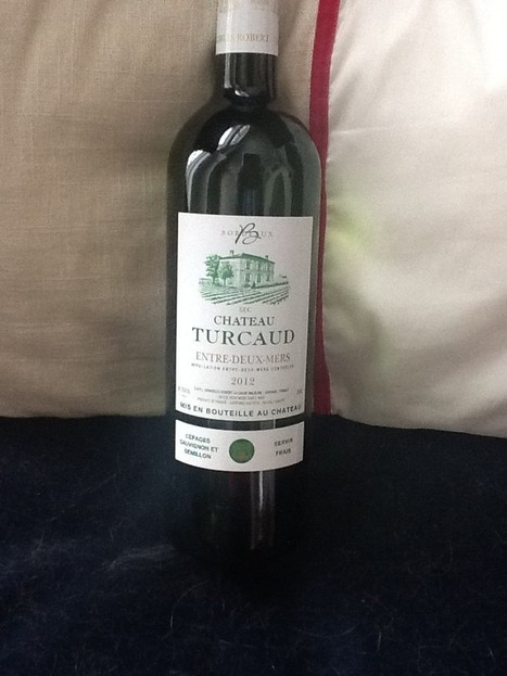 Chateau Turcaud Entre-Deux-Mers White Bordeaux | Planet Bordeaux - The Heart & Soul of Bordeaux | Scoop.it