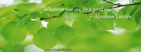 Facebook Cover Image - Abraham Lincoln Quotes - TheQuotes.Net   February   Scoop.it