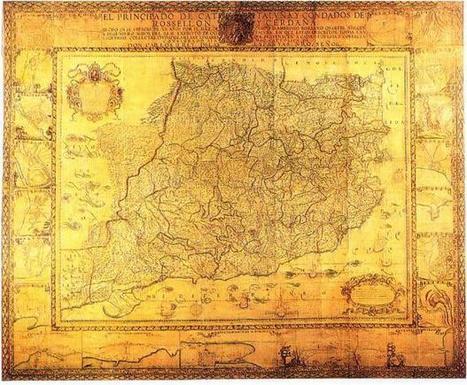 La BNE digitaliza en alta resolución el mapa de Cataluña de Borsano - Mito   Revista Cultural   Humanidades digitales   Scoop.it