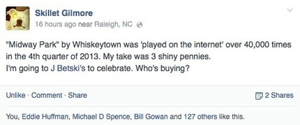 Whiskeytown's dollars and cents -- but really just cents | Kill The Record Industry | Scoop.it