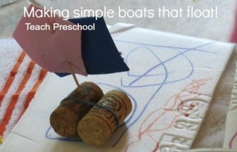 Making simple boats that float | Teach Preschool | Scoop.it