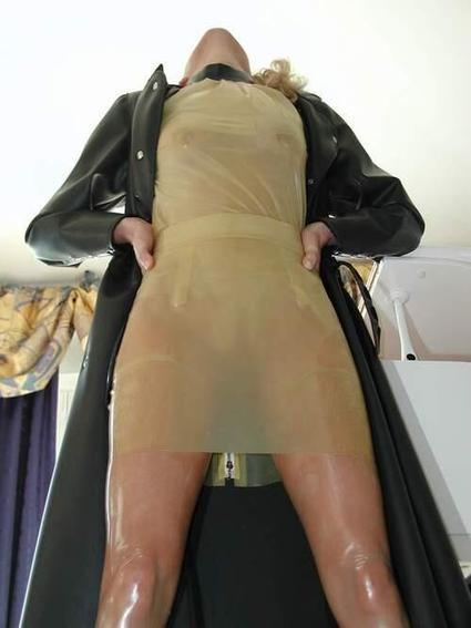 Twitter / SaintMarche: #latex #rubber #fashion #exotic ... | Transparent Latex | Scoop.it