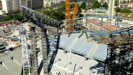 Suivez l'intégralité du chantier du Stade vélodrome en direct | Cahier des Architectes | Scoop.it