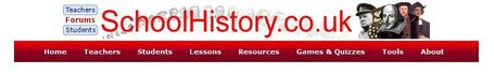 SchoolHistory.co.uk - online history lessons, revision, games, worksheets, quizzes and links. | talkprimaryICT | Scoop.it