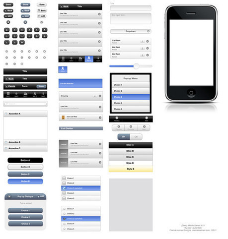 50 Fresh Free Web And Mobile UI Element | PSD Mobile User Interface | Scoop.it