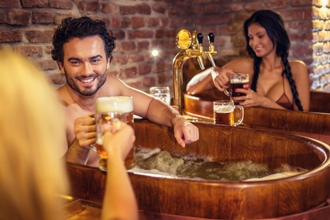 Relaxation : Le bain de bière | Santé & Bien-Être | Scoop.it