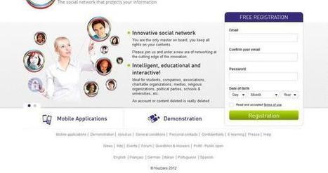 Youzzers, réseau social protecteur des données personnelles | Innovation et sérendipité | Scoop.it