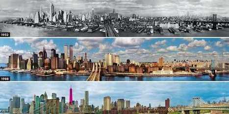 Here's What 14 Major Cities Looked Like Then And Now | ThingzIRead | Scoop.it