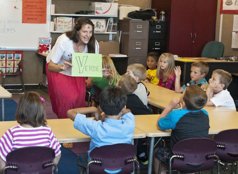 Students throughout Cache Valley start dual language immersion program | Dual Language Education | Scoop.it