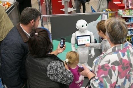 Robot en point de vente, gadget ou réelle innovation commerciale ? | Mobile & Digital World | Scoop.it