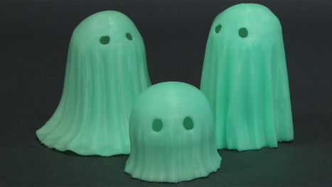 You Can Now 3D Print With This Spooky Glow-In-The-Dark Filament | 3dprint | Scoop.it
