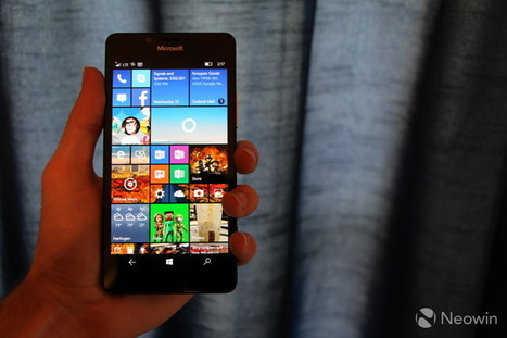 Microsoft starts shipping the Lumia 950 and 950 XL in parts of Europe | Windows Phone - CompuSpace | Scoop.it
