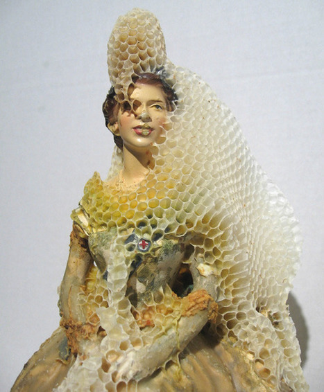 Aganetha Dyck - honeybees-powered sculptures | Computational Design | Scoop.it