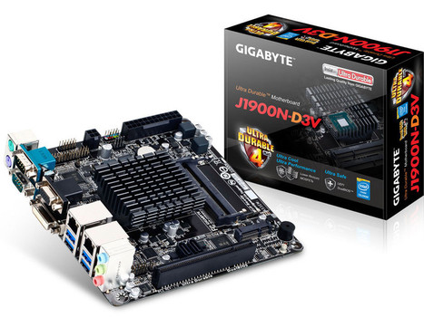 Gigabyte Releases Mini-ITX Motherboard with Quad-Core Celeron SoC | Raspberry Pi | Scoop.it