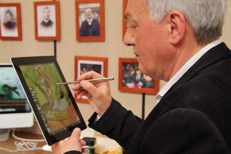 Le pinceau numérique inventé à Saint-Brieuc - Ouest-France | Histoire des arts 3e | Scoop.it