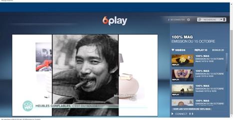 6play M6 : la TV en streaming | Quasar Khanh: designer visionnaire | Scoop.it