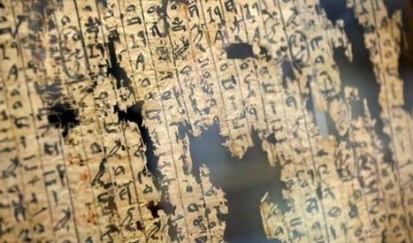 El papiro de los porteadores de piedra de la Gran Pirámide de Keops | Egiptología | Scoop.it