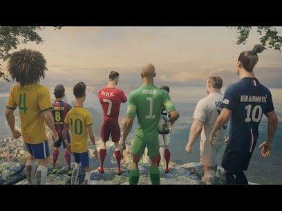 Nike Football: The Last Game ft. Ronaldo, Neymar Jr., Rooney, Zlatan, Iniesta & more | First Topic | Scoop.it
