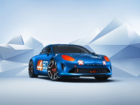 Alpine Celebration : un concept proche de la future Alpine de série | Voitures anciennes - Classic cars - Concept cars | Scoop.it